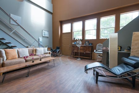 Art filled,  sunny Oakland loft - Oakland - Appartamento