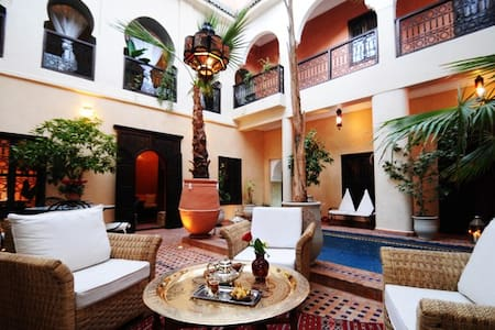 Riad Hadda Chambre Halima - Casa