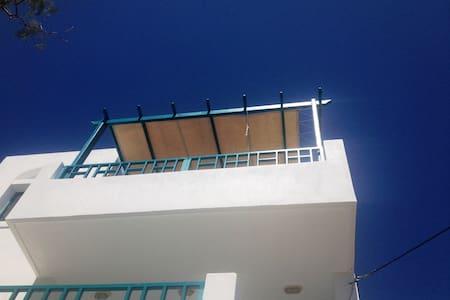 Agia Fotia Seafront Apartment - Paralia Agias Fotinis - Lägenhet