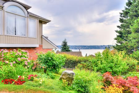 Mt & Lake View In-Law Suite Seattle - Mercer Island - House