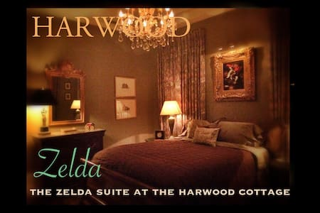 The Harwood Cottage Zelda Suite - Macon - House