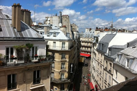 ROOFS OF PARIS