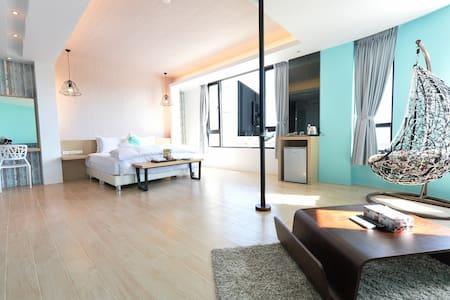 澎湖樂圖漫遊會館Lovetour Homestay 地中海•2人房 - Apartamento