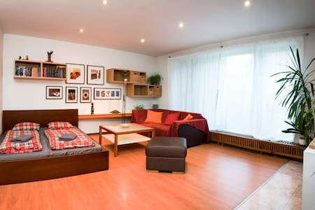 Bright room in Prague house