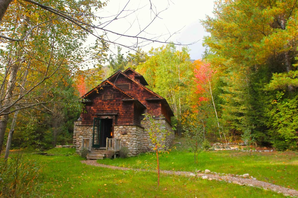Fall at the Icehouse