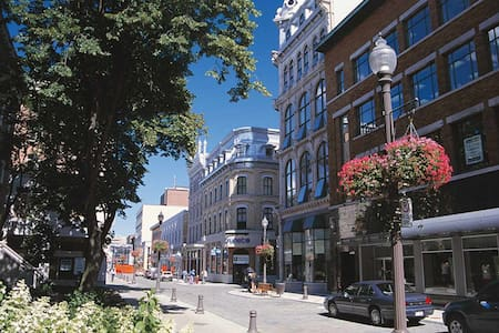 In the heart of Quebec city - Lakás