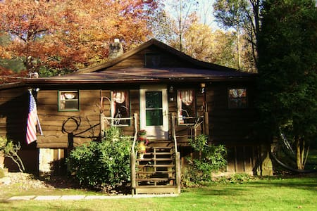 Laurel Highlands Cabin Artistic and Quaint - Laurel Mountain