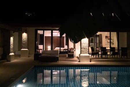 Samui home swimming pool & staff. - Villa