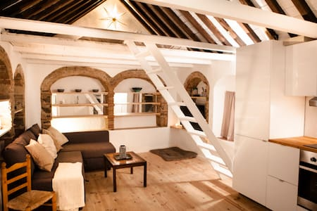 1 - STUDIO IN HISTORIC CENTRE WITH PRIVATE ROOFTOP - Apartamento
