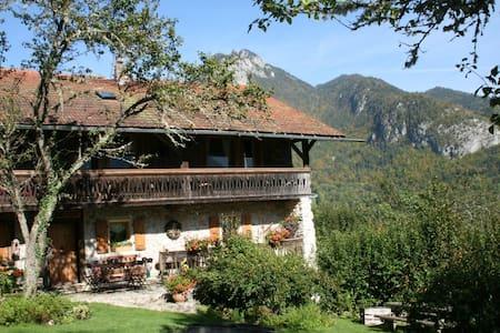 Charme et confort à la montagne - La Baume - Leilighet