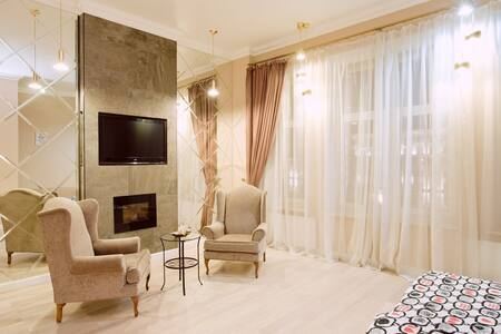 Unique studio with a fireplace - Moskva - Apartment