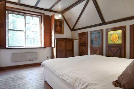 2 authentieke tweepersoonskamers - Sint-Martens-Latem - Szoba reggelivel