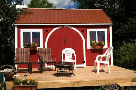Tiny Cabin over the St George. - South Thomaston - Hytte