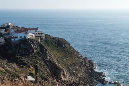 Ocean Cliff Retreat, La Bufadora - Maison
