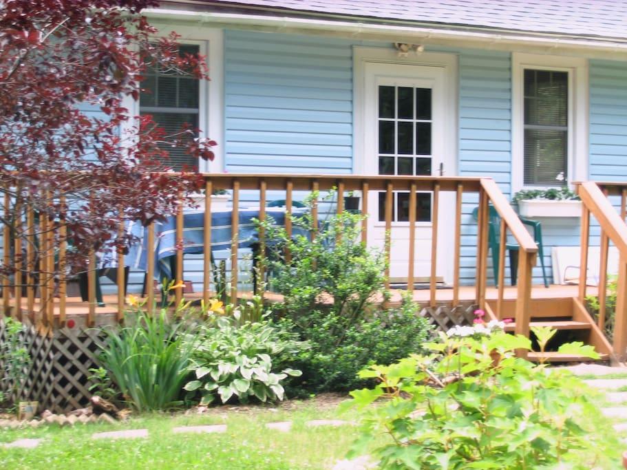 Charming Cozy Cottage Garden - June