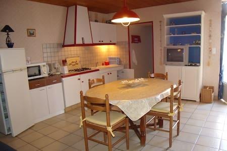 Maison dans village de caractère - Brem-sur-Mer - Talo