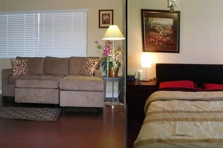 Near LAX - PRIVATE Bedroom&Bathroom w FREE parking - 公寓