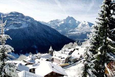 Studio Located in the Swiss Alps 4 - Gryon - Overig