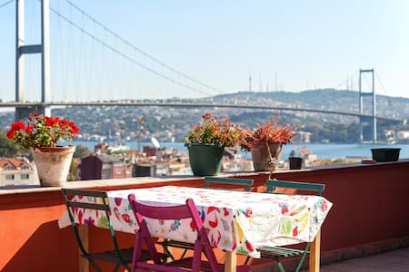 PRIVATE TERRACE & INCREDIBLE VİEW - Istanbul - Apartment