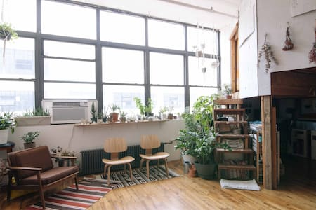 Bushwick Artist Loft - Cozy Room - Brooklyn - Loft