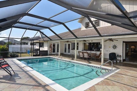 Private room shared in a pool house - Cape Coral - Maison