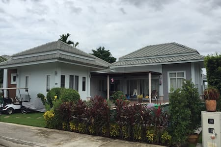 Great 2Bd villa with large pool! - Hin Lek Fai - Villa