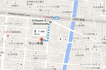 2bedroom Kintetsu Osaka Line 501
