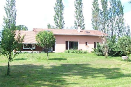 Chambre/ds maison agréable/gd esp v - Tercis-les-Bains - Hus