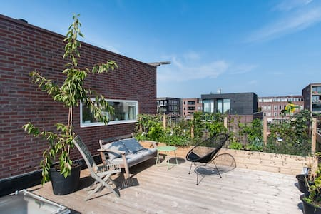 Appartment 125m2 with roofterrace - Wohnung