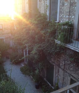 Apartment & garden near Garda Lake