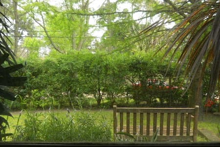 Private suite & den w/garden view