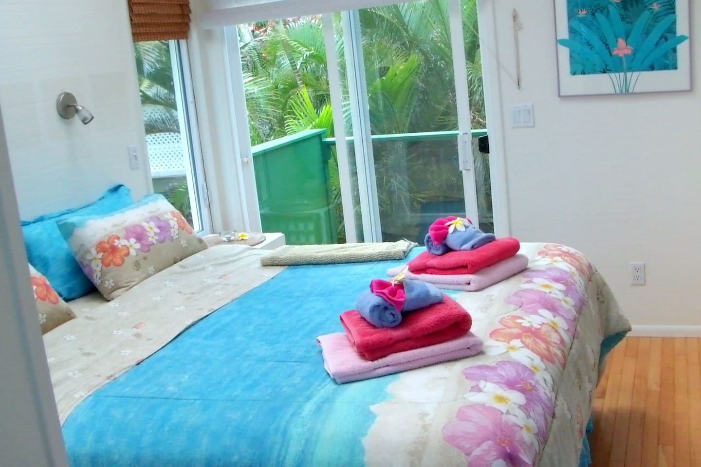 Curl up in your Cal King bed with six foot skylight overhead - look at the stars!