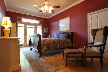 Anderson Oaks Vineyard BNB, Pinot Room - Penzion (B&B)