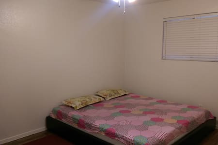 Master Bedroom in a two Bed Apt