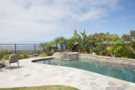 Private Guesthouse w/Own Pool & Spa - 派洛斯福德庄园(Rancho Palos Verdes)