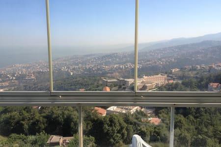 Panoramic views in beit meri - Beirut