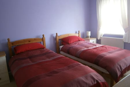 Twin Room over the Teifi Valley - Llandysul - Hus