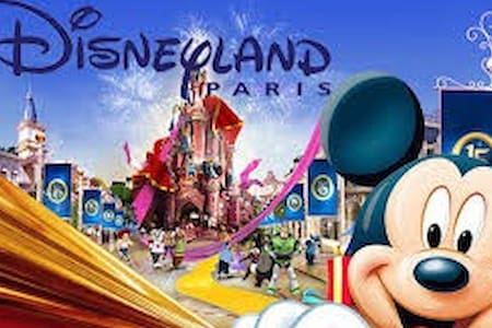 Disneyland Paris by foot 5min -8p - Byt