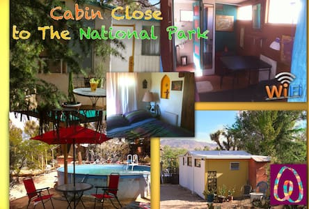 Rustic Guest Cabin Joshua Tree Park - Joshua Tree
