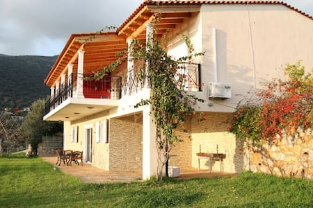 Beach Front Property in Evia - Villa