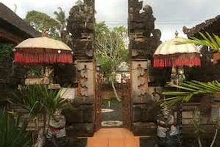 experience stay at traditional balinese village ,feel your real holiday in bali and chat with local community