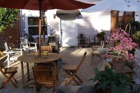 Private guest unit with patio - Fremont - Appartamento