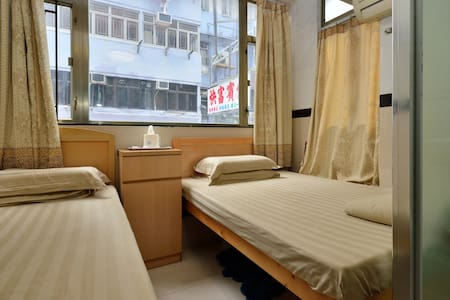 Hostel is located in Hong Kong, 200 metres from MTR Mongkok st. Free Wi-Fi access is available.  Each room here will provide you with a TV and air conditioning. Featuring a shower, private bathroom also comes with a hairdryer and free toiletries.