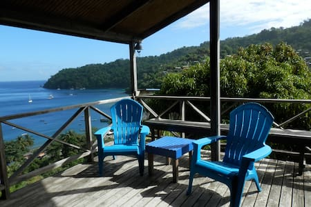 Bella Vista Cottage near the beach and rain forest - Charlotteville