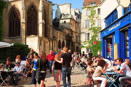 Chambre Centre Paris Marais