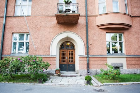 68m2 Jugend flat in Central Park - Huoneisto