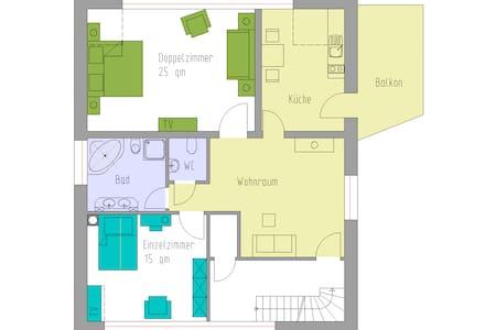 Ferienwohnung - Willich - Apartamento