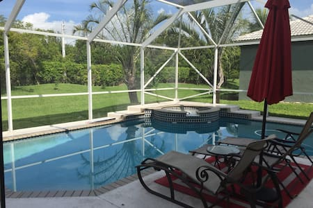 Beautiful home pool , Family home. - Parkland