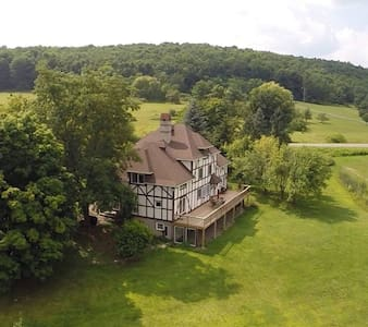 Manor House Estate - Hammondsport - Casa