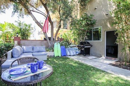 Beachside studio w/private garden - Marina del Rey - Appartement
